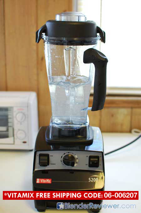 Cleaning VitaMix 5200 2