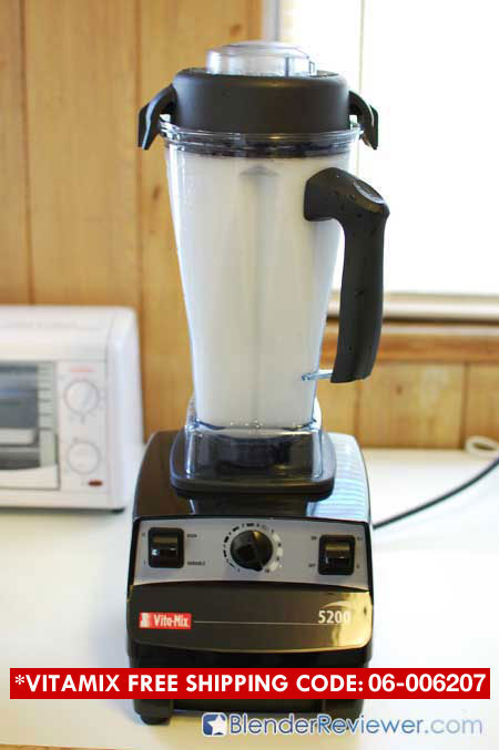 Cleaning VitaMix 5200 4