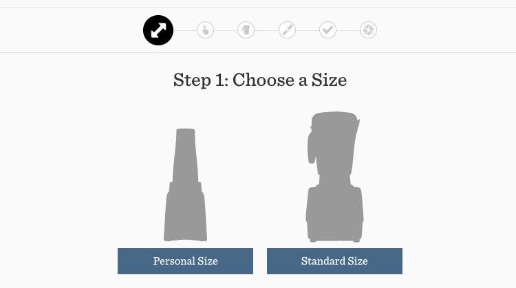 Vitamix Blender Size