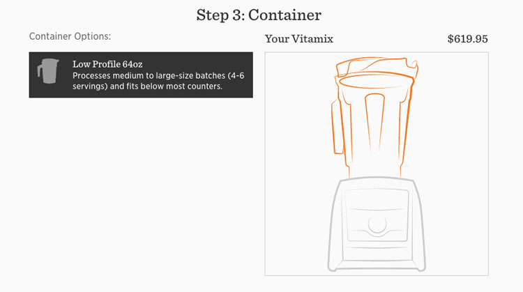 Vitamix Container