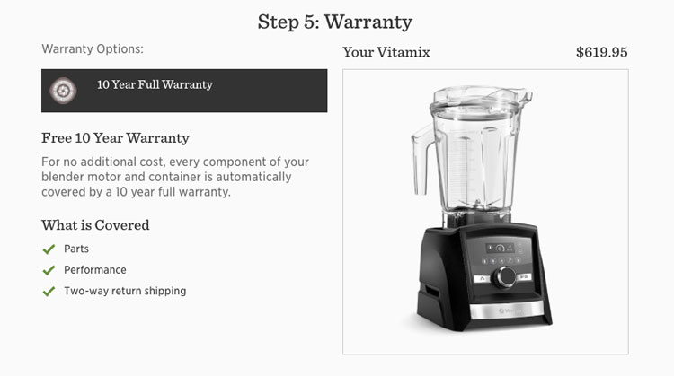 Vitamix Warranty