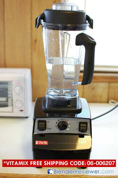 Cleaning VitaMix 5200 1