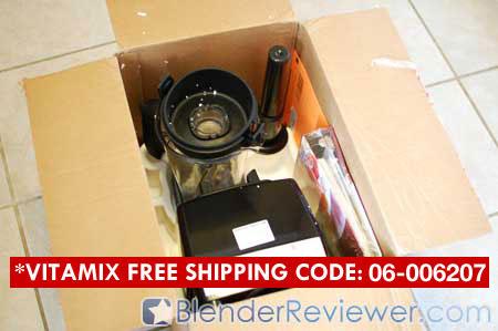 VitaMix 5200 Blender Box