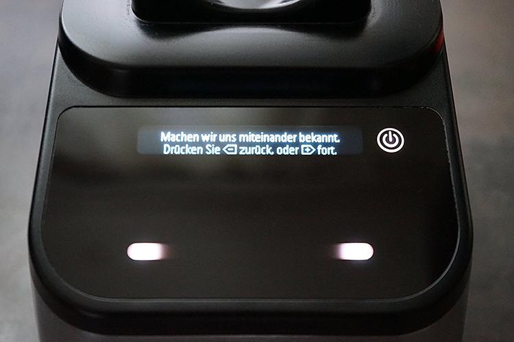 Blendtec 725 Controls